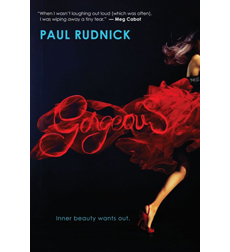 book cover of Gorgeous by Paul Rudnick published by Scholastic