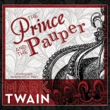 CD cover of The Prince and the Pauper by Mark Twain read by Steve Wade published by Blackstone Audio