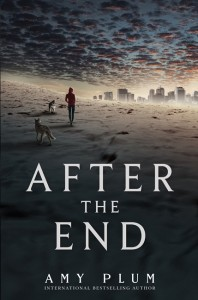 book cover of After the End by Amy Plum published by HarperTeen