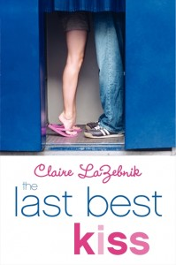 bool cover of The Last Best Kiss by Claire LaZebnik published by Harper Teen
