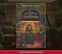 CD cover of Case of the Cryptic Crinoline By Nancy Springer Read by Katherine Kellgren Published by Recorded Books