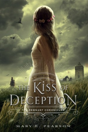 book cover of The Kiss of Deception by Mary E Pearson published by Henry Holt