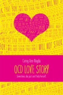 book cover of OCD Love Story by Corey Ann Haydu published by Simon Pulse