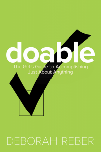book cover of Doable by Deborah Reber published by Beyond Words
