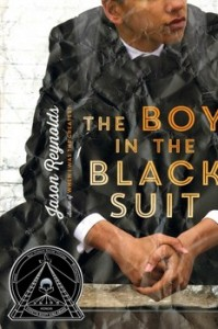book cover of Boy in the Black Suit by Jason Reynolds published by Atheneum Books for Young Readers | BooksYALove.com