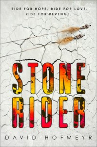 book cover of Stone Rider published by Delacorte | recommended on BooksYALove.com