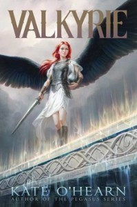 book cover of Valkyrie by Kate O'Hearn published by Aladdin | BooksYALove.com