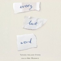 CD cover of Every Last Word by Tamara Ireland Stone | Read by Amy Rubinate Published by Ideal Audiobooks | recommended on BooksYALove.com