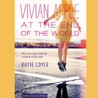 CD cover of audiobook Vivian Apple at the End of the World by Katie Coyle, Published by Dreamscape Media | recommended on BooksYALove.com