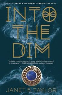 book cover of Into the Dim by Janet B. Taylor published by Houghton Mifflin Harcourt | recommended on BooksYALove.com