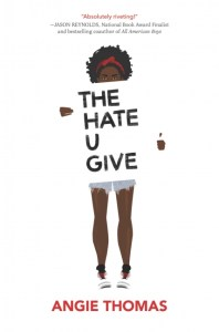 book cover of The Hate U Give by Angie Thomas published by Balzer + Bray  | recommended on BooksYALove.com