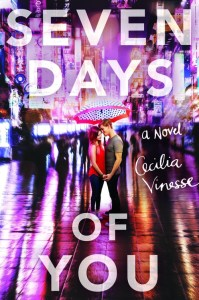 US book cover of Seven Days of You published by Poppy Little Brown  | recommended on BooksYALove.com