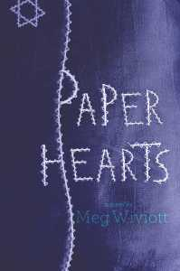 book cover of Paper Hearts by Meg Wiviott published by Margaret K. McElderry Books | recommended on BooksYALove.com