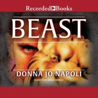 CD cover of Beast by Donna Jo Napoli | Read by Robert Ramirez Published by Recorded Books | recommended on BooksYALove.com
