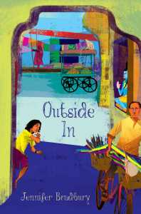 book cover of Outside In, by Jennifer Bradbury, published by Atheneum BFYR | recommended on BooksYALove.com