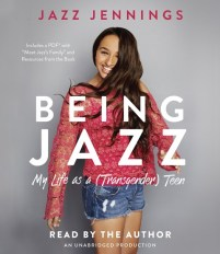 CD cover of Being Jazz, by Jazz Jennings | Read by Jazz Jennings Published by Listening Library | recommended on BooksYALove.com