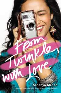 book cover of From Twinkle. With Love by Sandhya Menon, published by Simon Pulse | recommended on BooksYALove.com