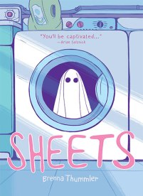 book cover of Sheets, by Brenna Thummler. Published by Cub House/Lion Forge | recommended on BooksYALove.com