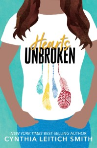 book cover of Hearts Unbroken by Cynthia Leitich Smith, published by Candlewick | recommended on BooksYALove.com