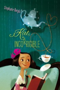 book cover of Katt Incorrigible by Stephanie Burgis. Published by Simon Kids | recommended on BooksYALove.com