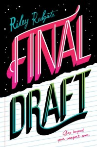 book cover of Final Draft, by Riley Redgate. Published by Amulet Books | recommended on BooksYALove.com