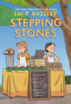 book cover of Stepping Stones, by Lucy Knisley. Published by RH Graphic | recommended on BooksYALove.com