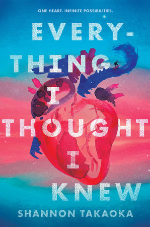 book cover of Everything I Thought I Knew, by Shannon Takaoka, published by Candlewick Press | recommended on BooksYALove.com