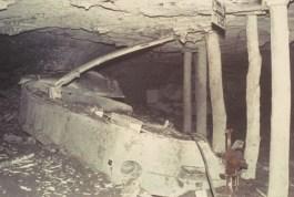 Locomotive, inside No.9, recovery