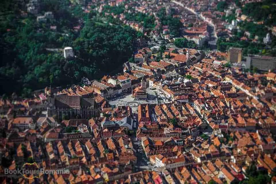 Visit Brasov: City Panorama