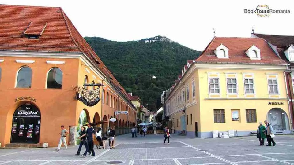 Brasov - view to Tampa Mountain
