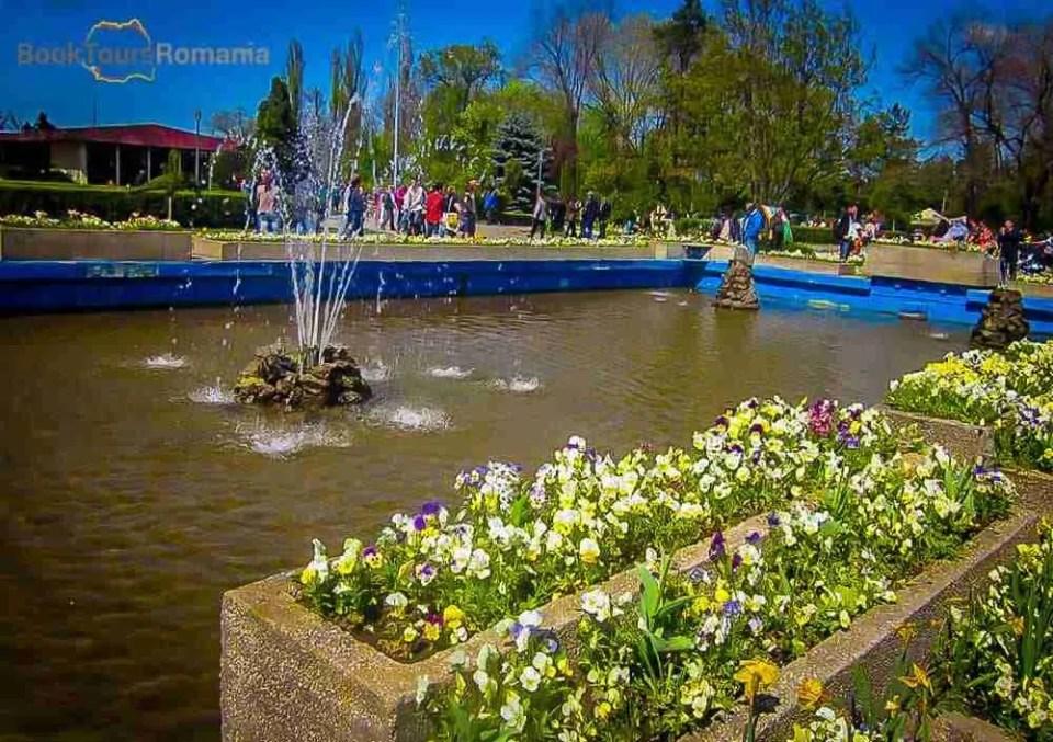 Founains in Herastrau Park