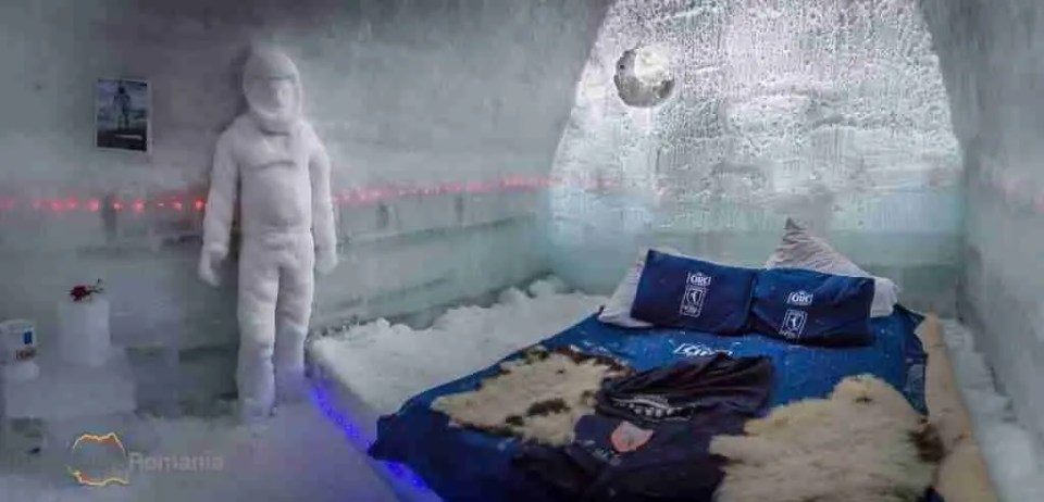 Hotel of Ice Room