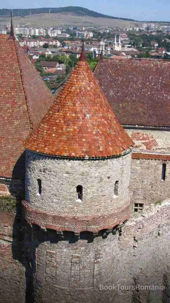 Defensive tower at huniady castle