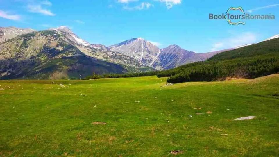 Landscape of Retezat mountains