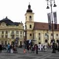 The Big Square of Sibiu and the Catholic church
