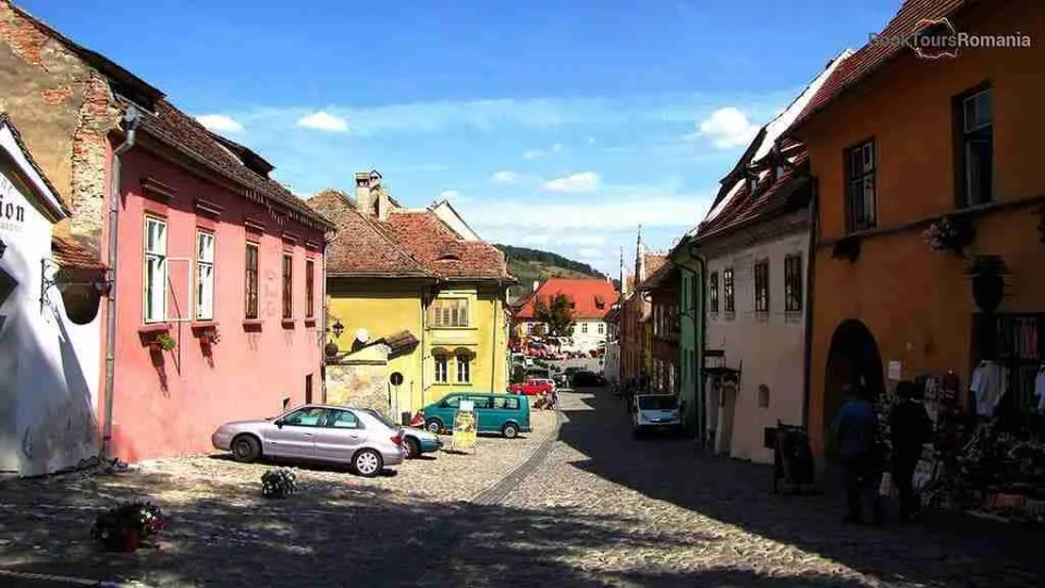 A street from the Sighisoara citadel