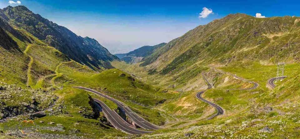 View over the Transfagarasan Road
