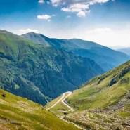 Landscape in Fagaras Mountains