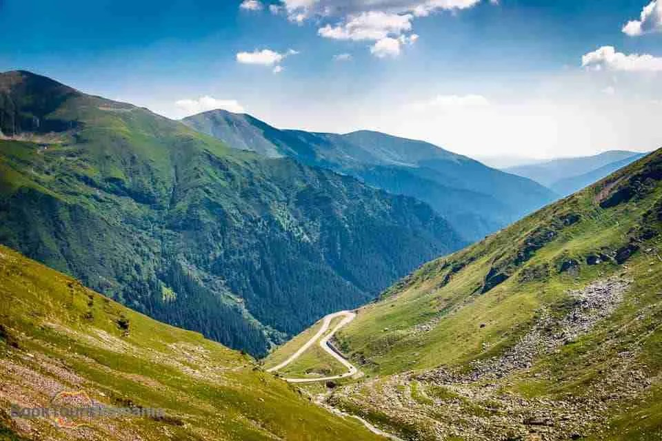 Landscape in Fagaras Mountains