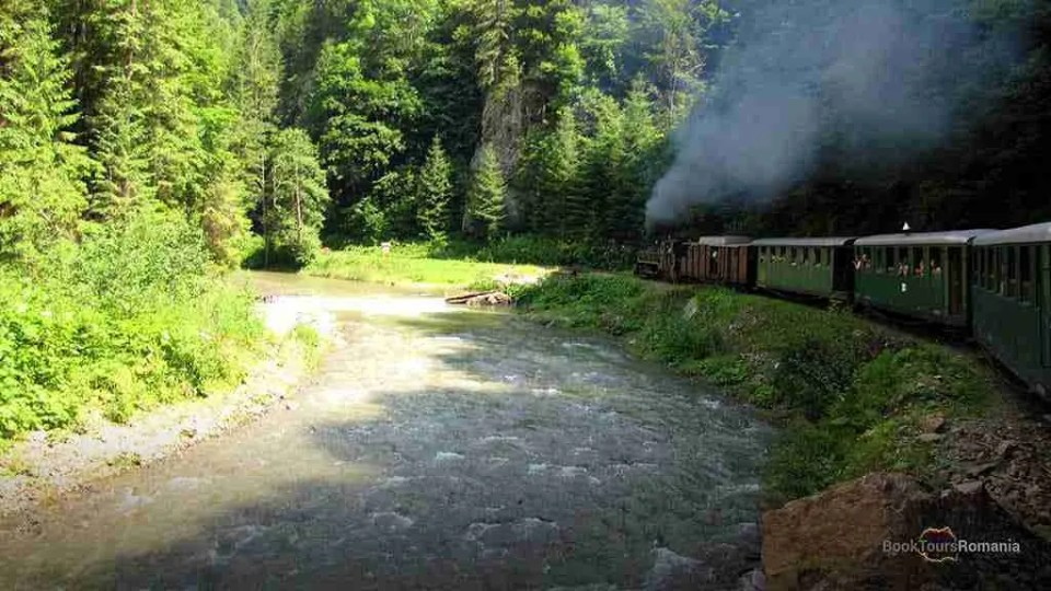 Vaser Valley Steam Train Maramures