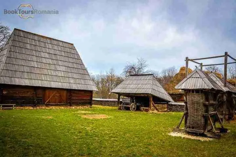 Annexes from a traditional house at Village Museum
