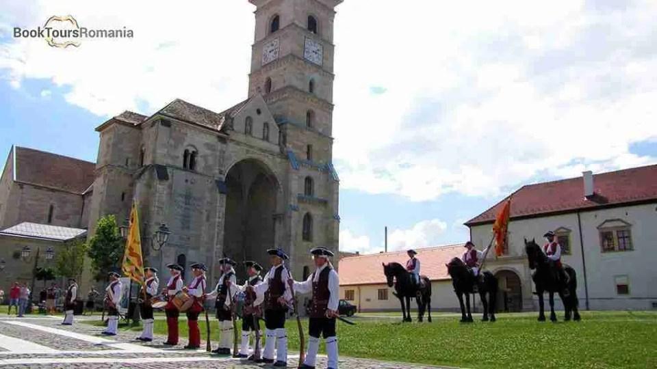 Change of guard -Romano Catholic Cathedral