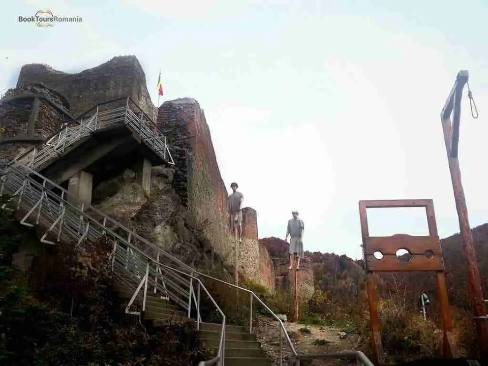 Poenari Castle - the real Dracula Castle