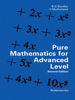 Download Pure Mathematics for Advanced Level by Bunday