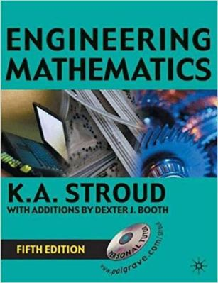 ENGINEERING MATHEMATICS BY K A STROUD pdf