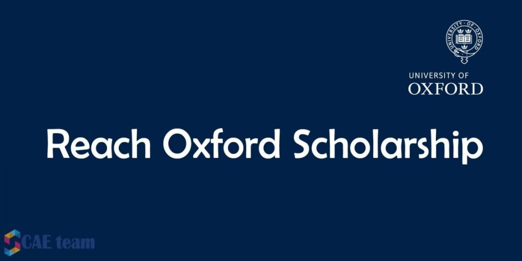 Fully Funded Reach Oxford Scholarship – Apply Now