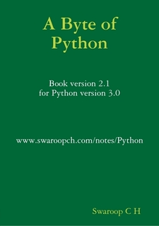 Download A Byte of Python by Swaroop C H