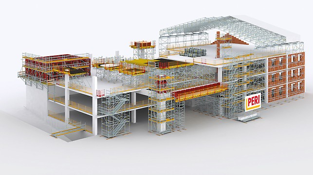 Siwes report on building construction
