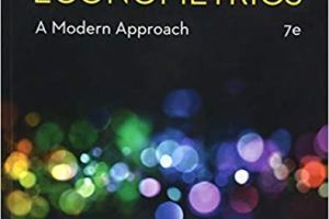 Introductory Econometrics A Modern Approach 7th Edition
