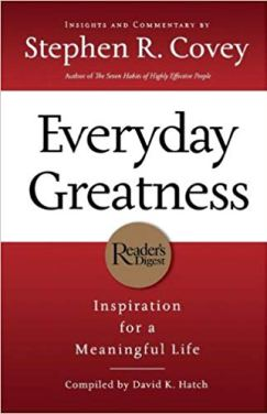 everyday greatness by stephen covey